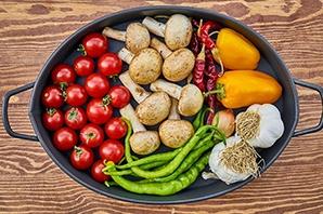 Vegane Mittagessen zur Gewichtsreduktion