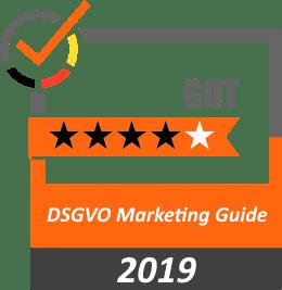 Bewertung 4 Sterne DSGVO Marketing Guide