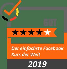 Bewertung 4 Sterne Der einfachste Facebook Kurs der Welt