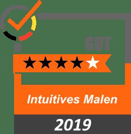 Bewertung 4 Sterne Intuitives Malen