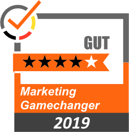 Bewertung 4 Sterne Marketing Gamechanger