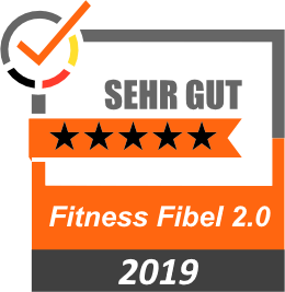 Bewertung 5 Sterne Fitness Fibel 2.0