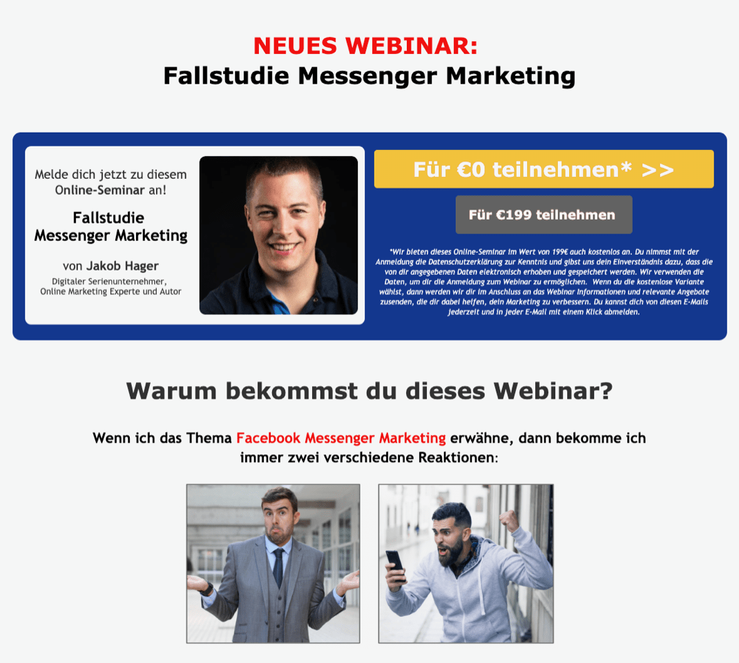 erfahrungen_marketing_gamechanger_anmeldeseite