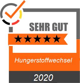 Bewertung 5 Sterne Hungerstoffwechsel