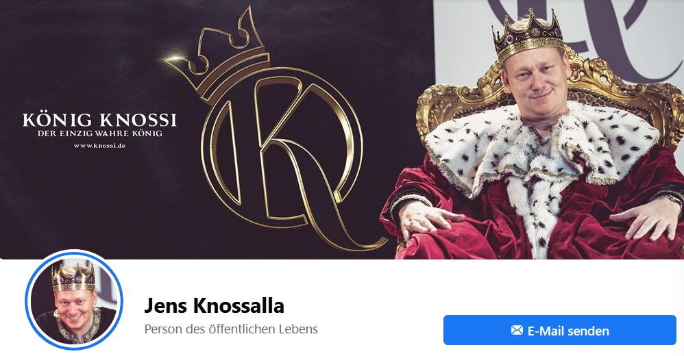 Knossi auf Facebook
