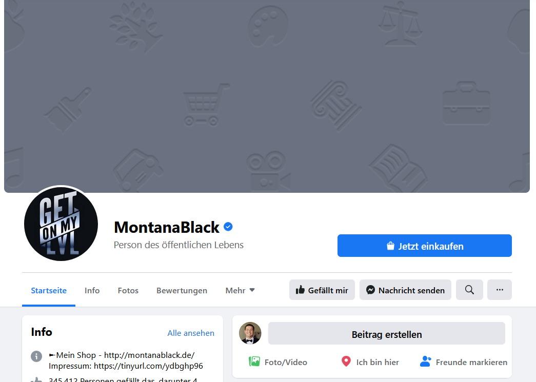 MontanaBlack Facebook