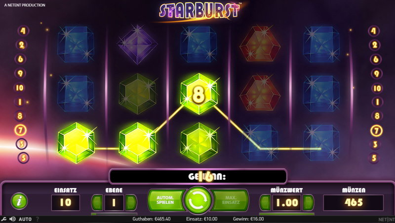 Starburst Diamanten