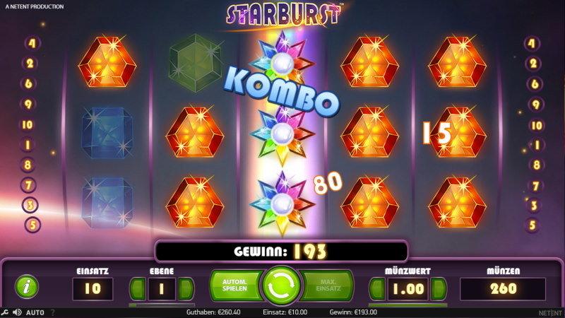 Starburst Worum geht es beim Slot-Spiel