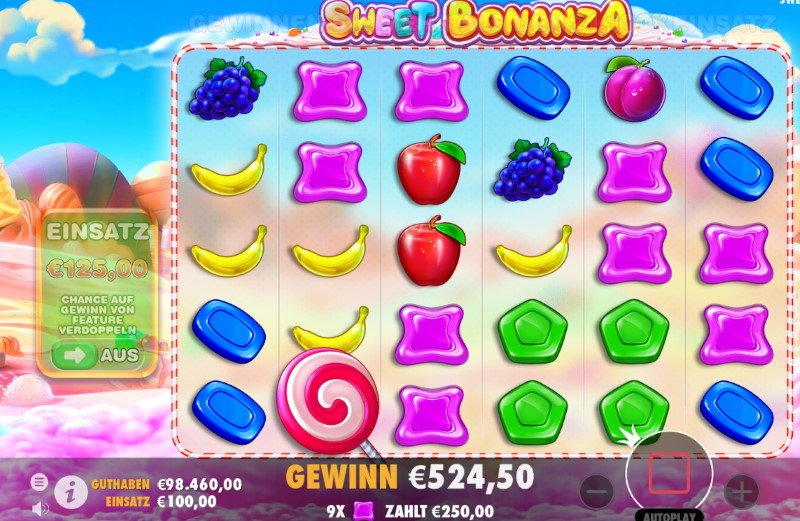 Sweet Bonanza hell-violett
