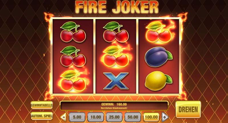 Fire Joker Slot Spielaufbau und Regeln für den Fire Joker Slot