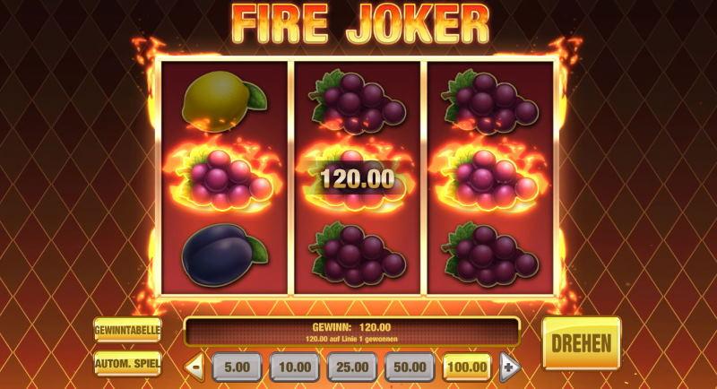 Fire joker Wie kann ich Fire Joker kostenlos online spielen