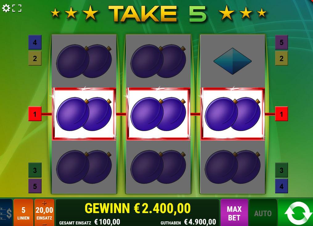 Take 5 Mit Bonus Take 5 im Online Casino spielen