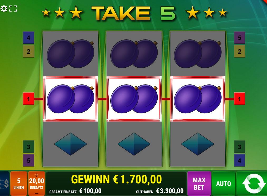 Take 5 Nach welchem Prinzip arbeiten die Take 5 Slots