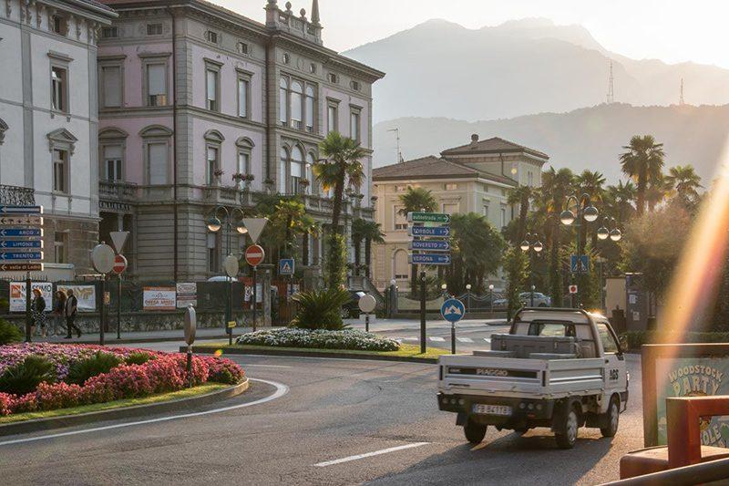 Bild: Typisches Stadtbild in Italien
